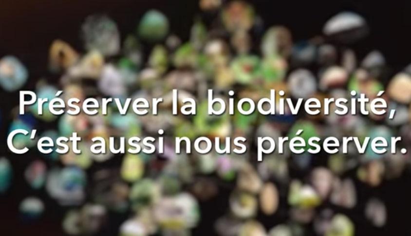 Vidéo préserver la biodiversité